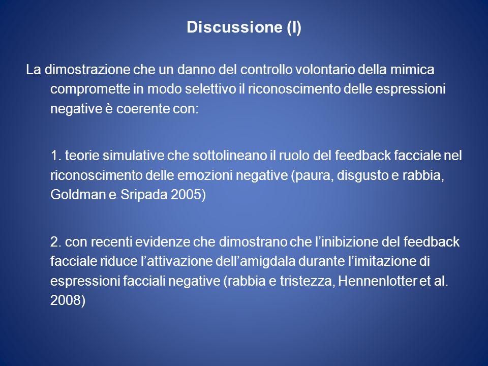 Discussione (I)