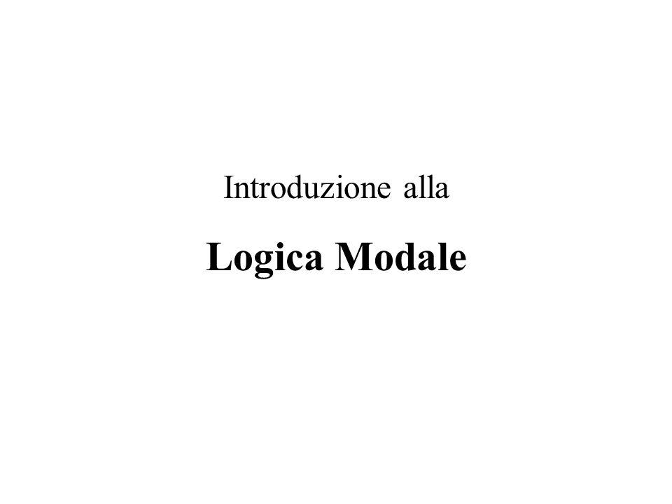 Introduzione alla Logica Modale