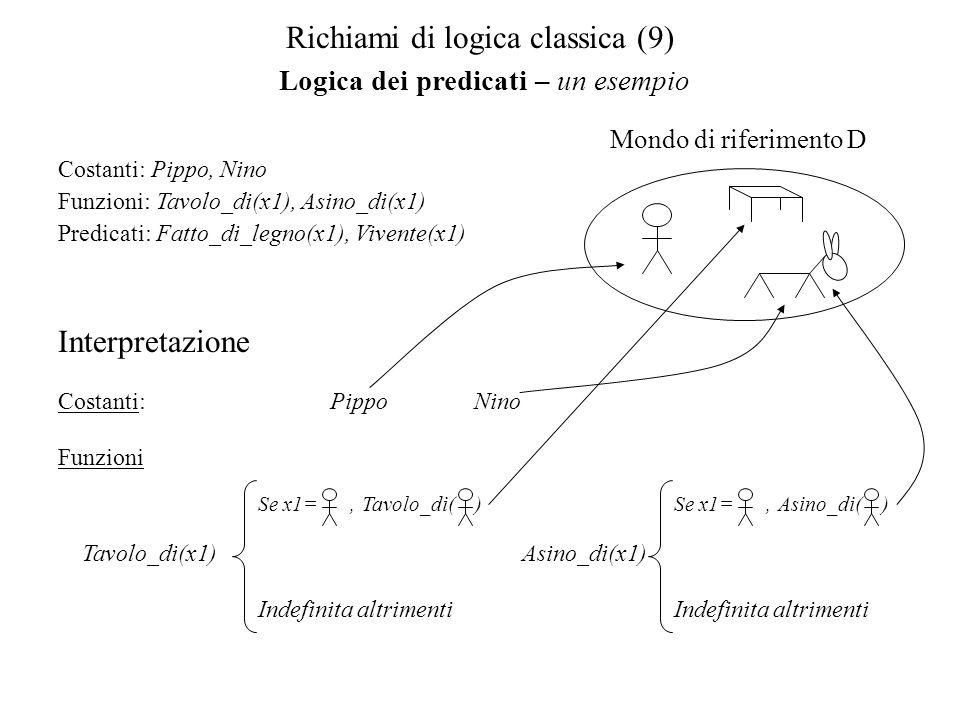 Richiami di logica classica (9)