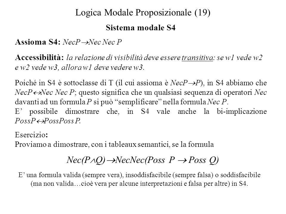 Logica Modale Proposizionale (19)