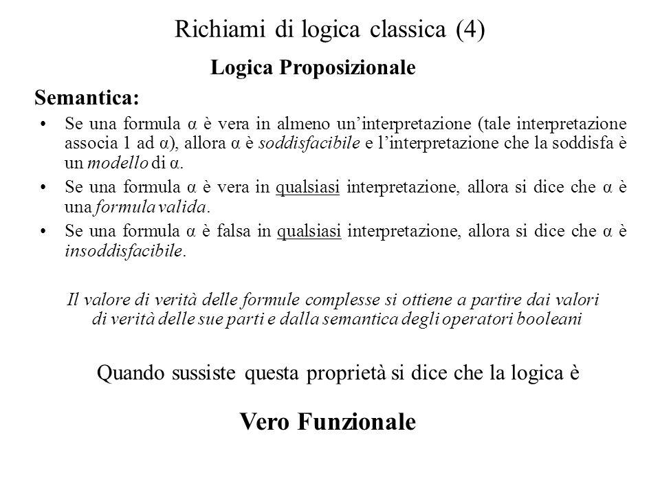 Richiami di logica classica (4)