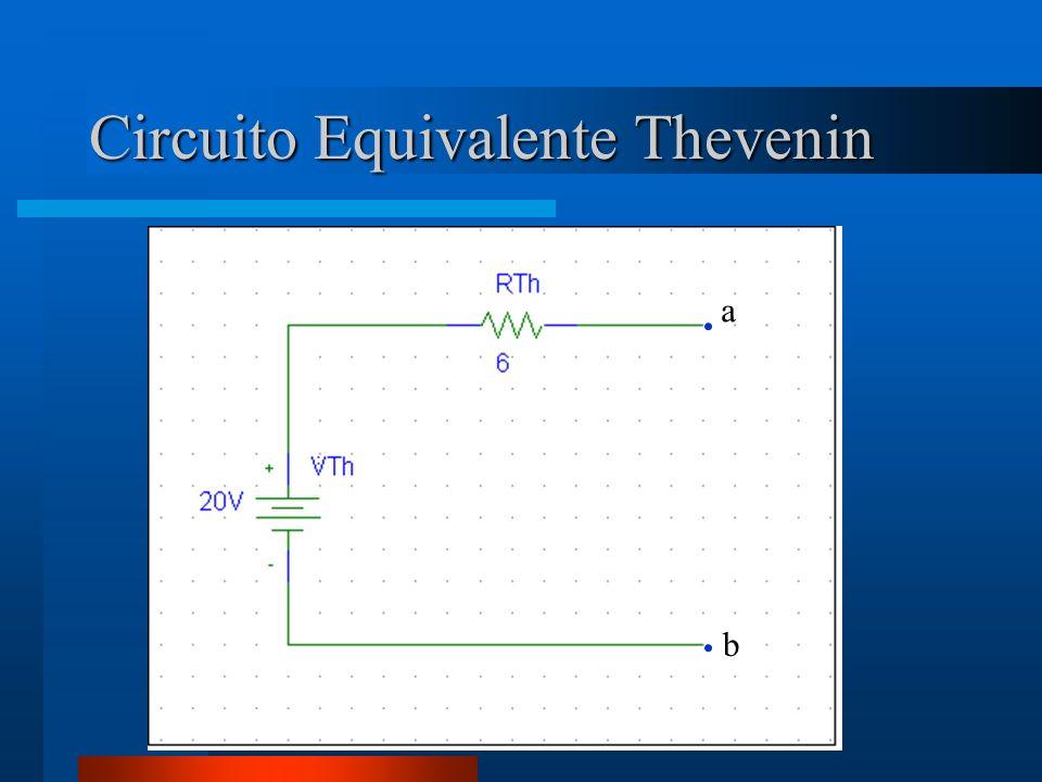 Circuito Equivalente Thevenin