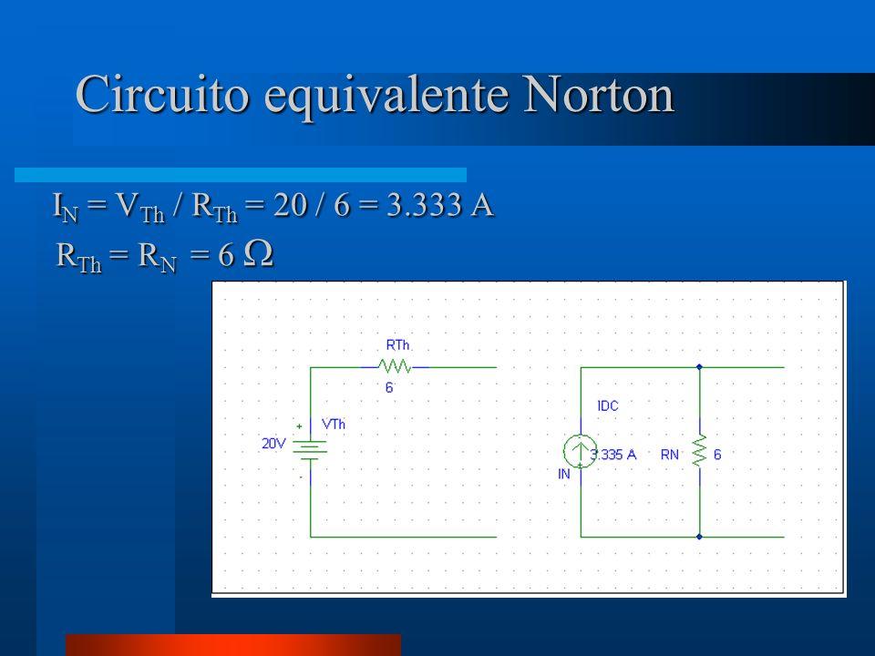 Circuito equivalente Norton