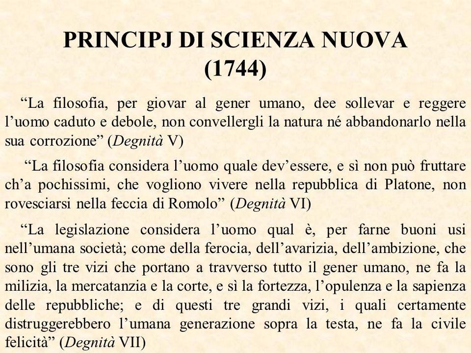 PRINCIPJ DI SCIENZA NUOVA (1744)