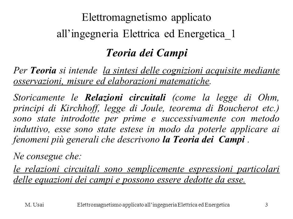 Elettromagnetismo applicato all'ingegneria Elettrica ed Energetica_1