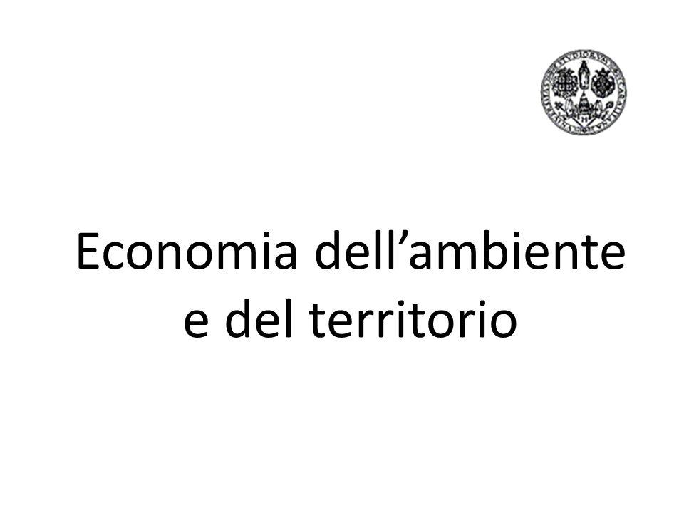 Economia dell'ambiente e del territorio