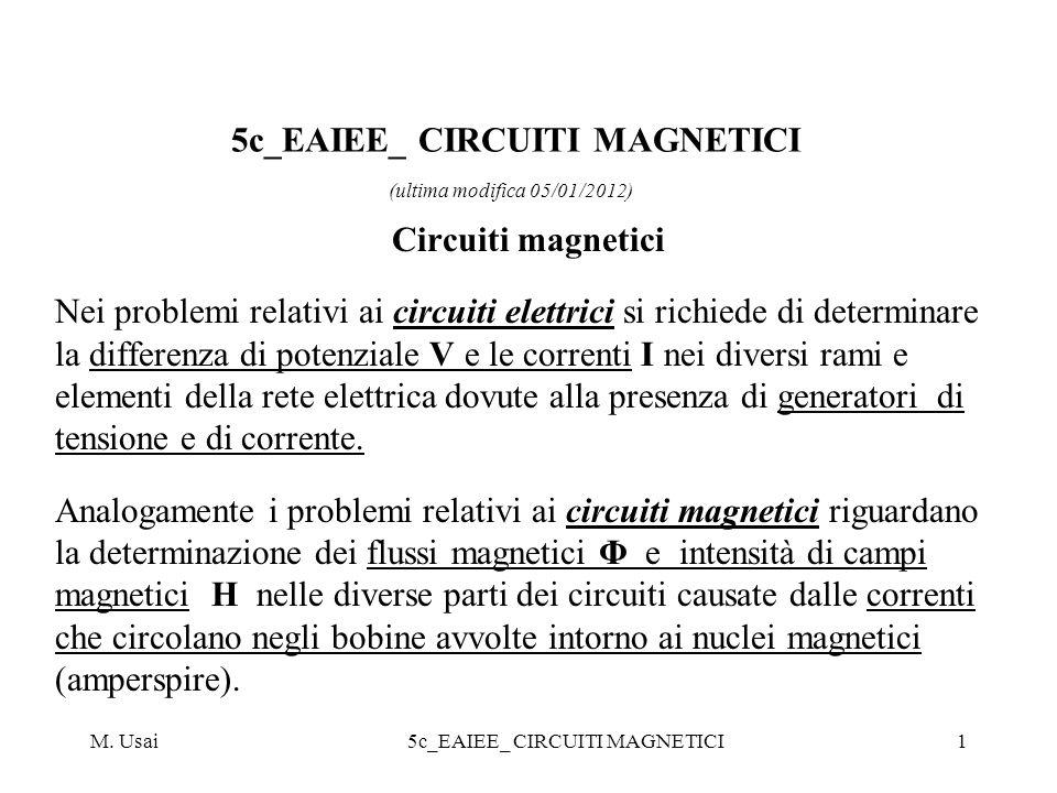 5c_EAIEE_ CIRCUITI MAGNETICI (ultima modifica 05/01/2012)