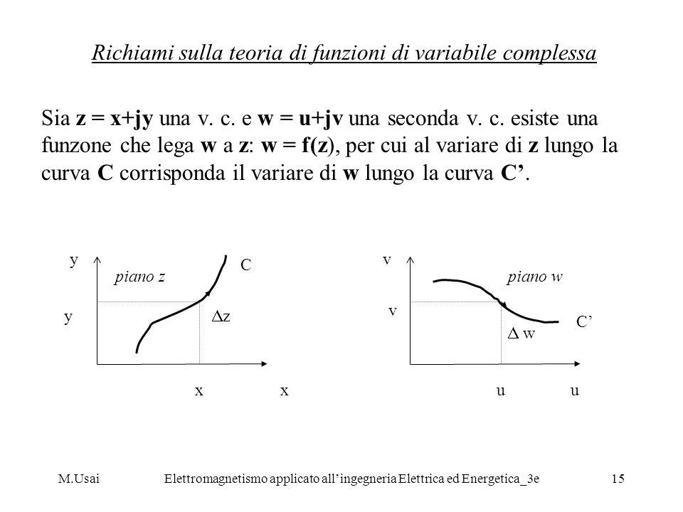 Richiami sulla teoria di funzioni di variabile complessa