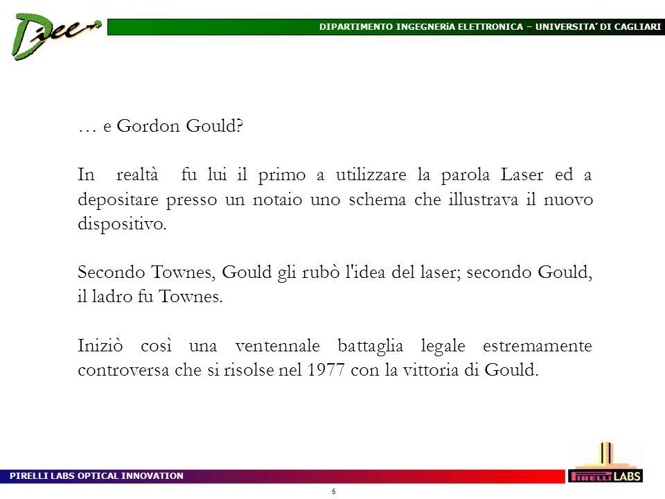 … e Gordon Gould