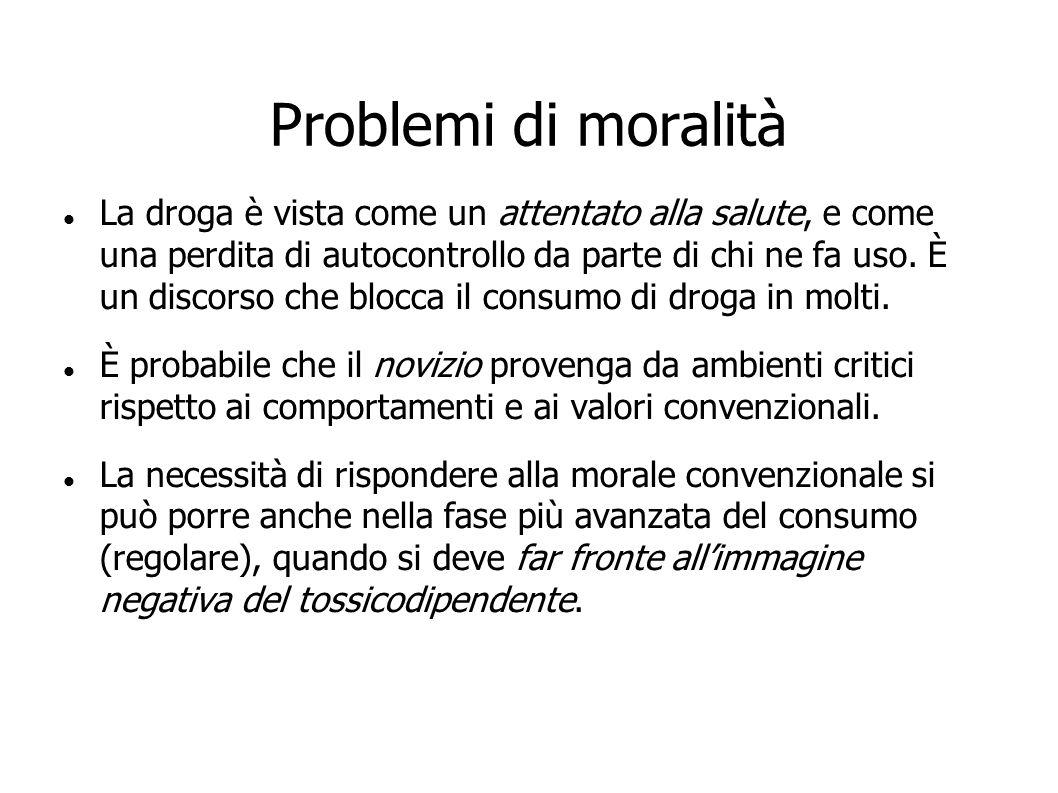 Problemi di moralità