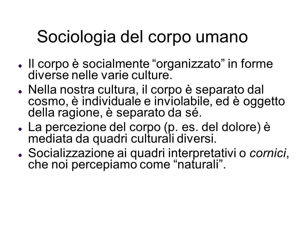 Sociologia del corpo umano