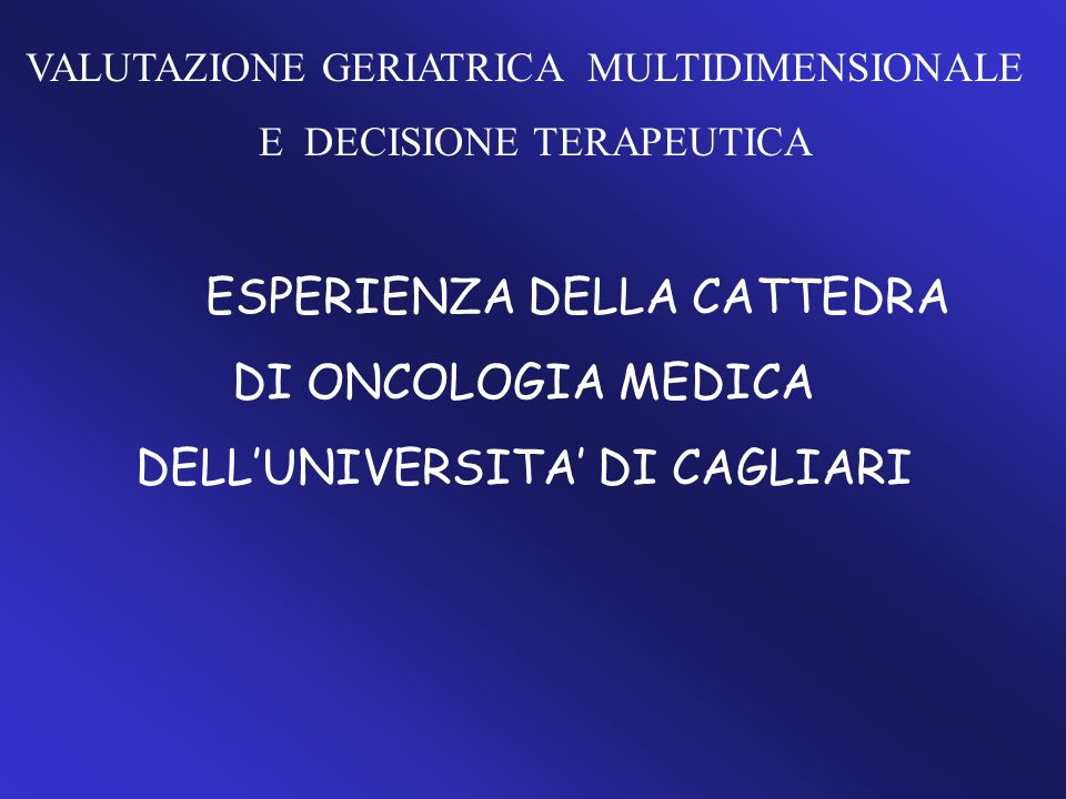 DELL'UNIVERSITA' DI CAGLIARI