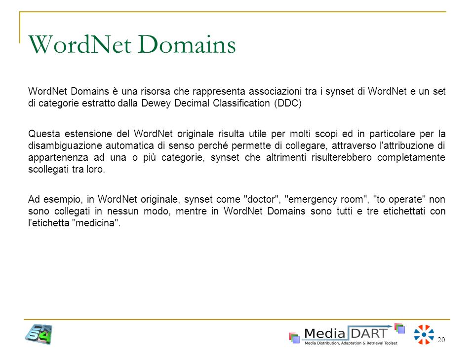 WordNet Domains