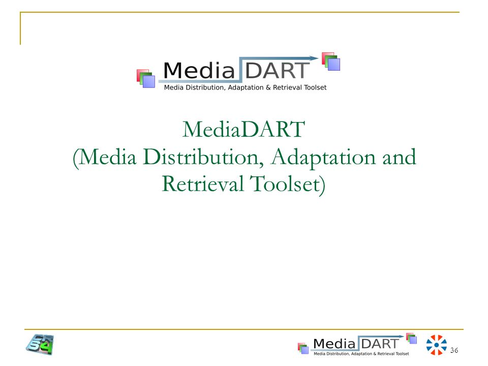 MediaDART (Media Distribution, Adaptation and Retrieval Toolset)