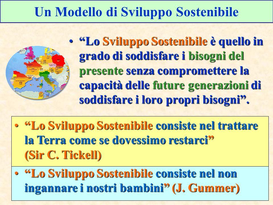 Un Modello di Sviluppo Sostenibile