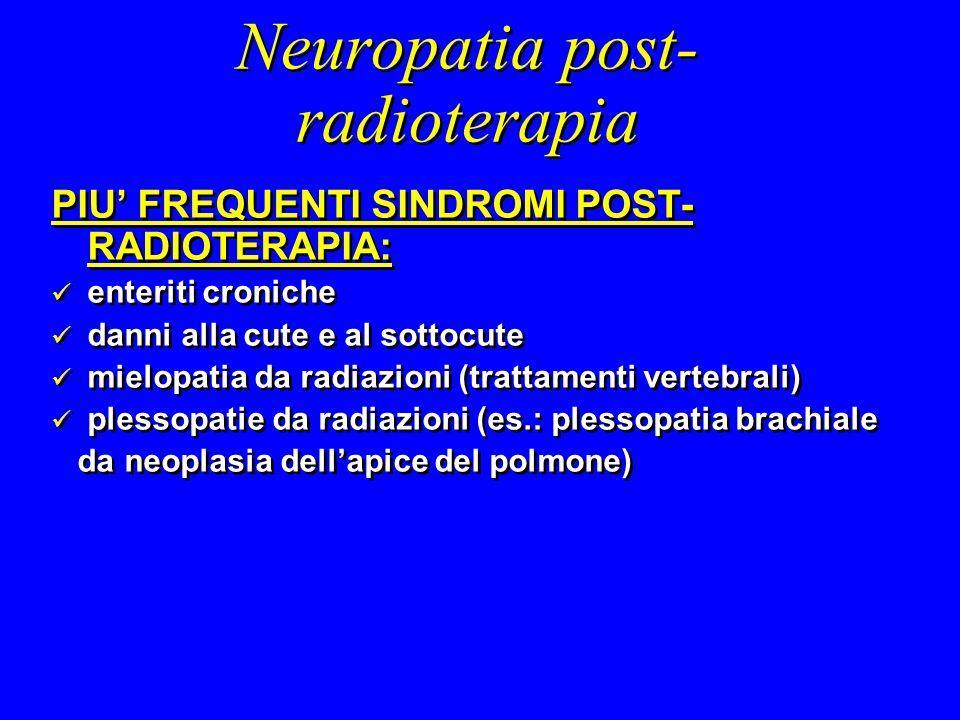 Neuropatia post-radioterapia
