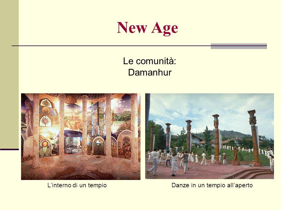 New Age Le comunità: Damanhur L'interno di un tempio