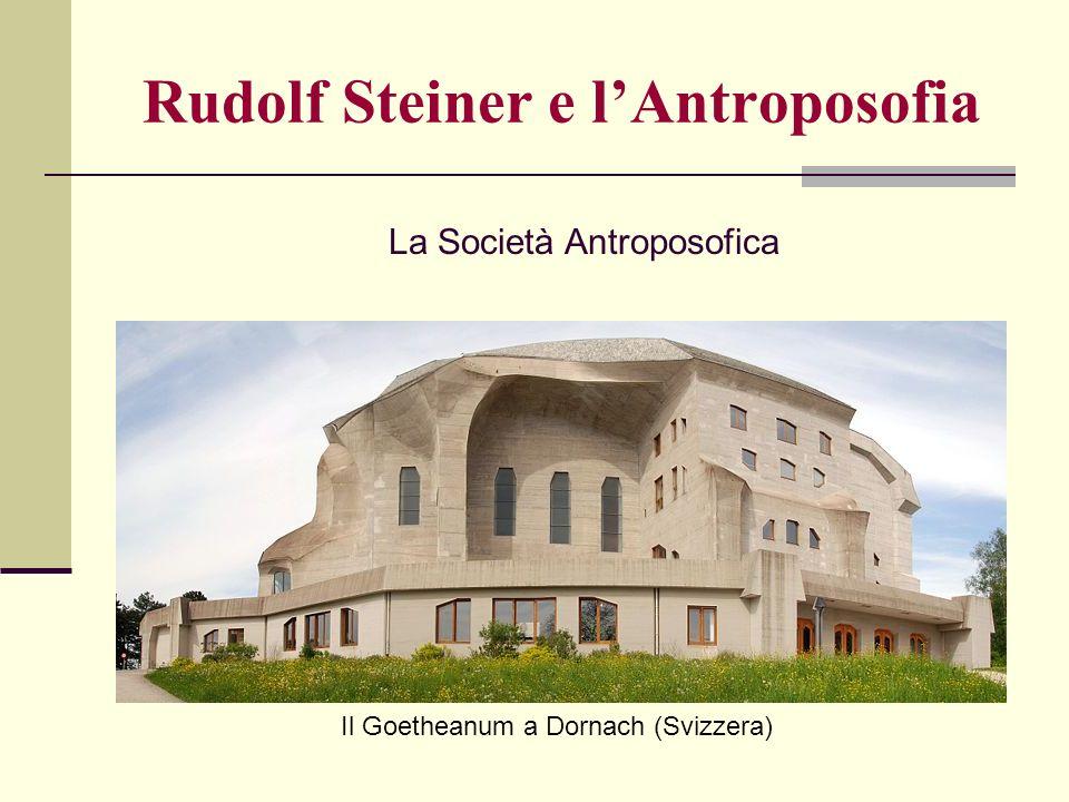 Rudolf Steiner e l'Antroposofia