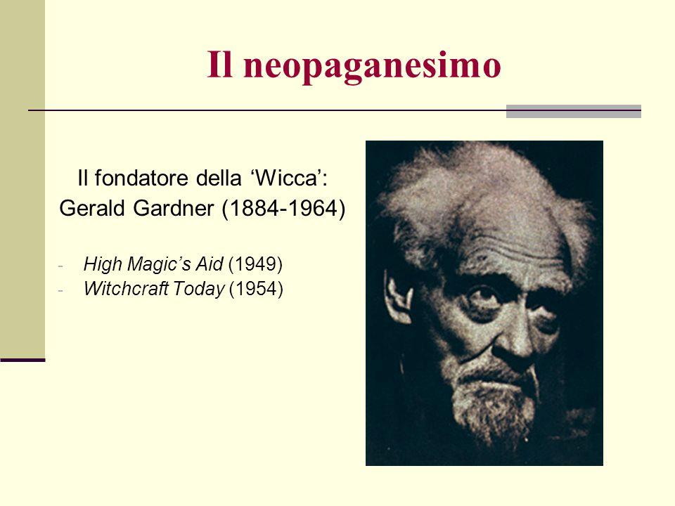 Il fondatore della 'Wicca':