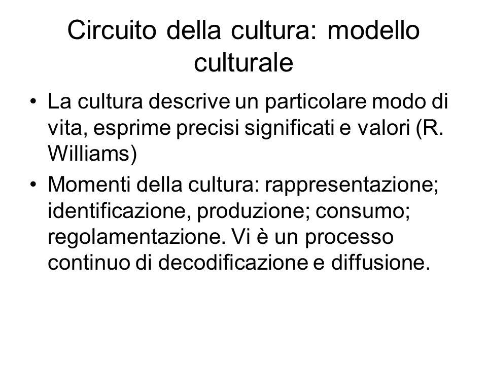 Circuito della cultura: modello culturale