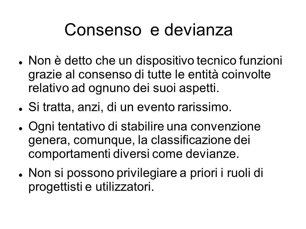 Consenso e devianza