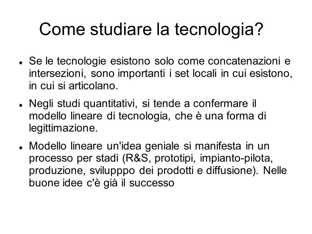 Come studiare la tecnologia