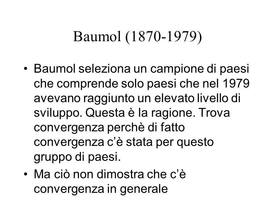 Baumol (1870-1979)