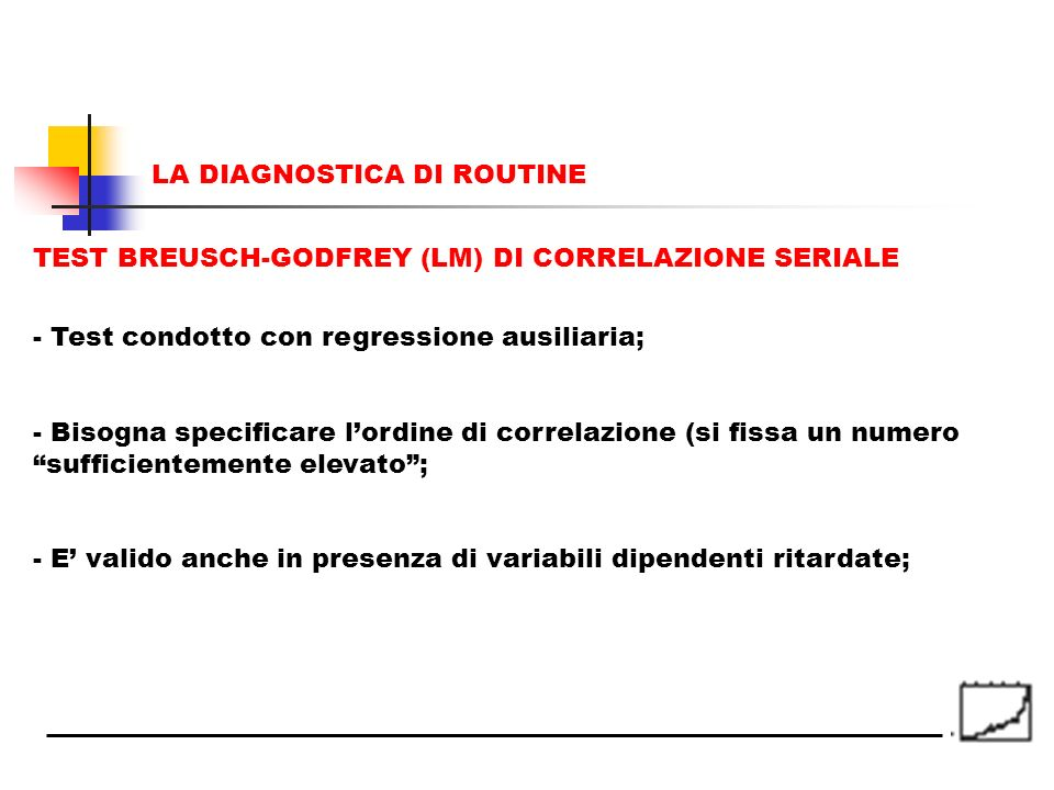 LA DIAGNOSTICA DI ROUTINE
