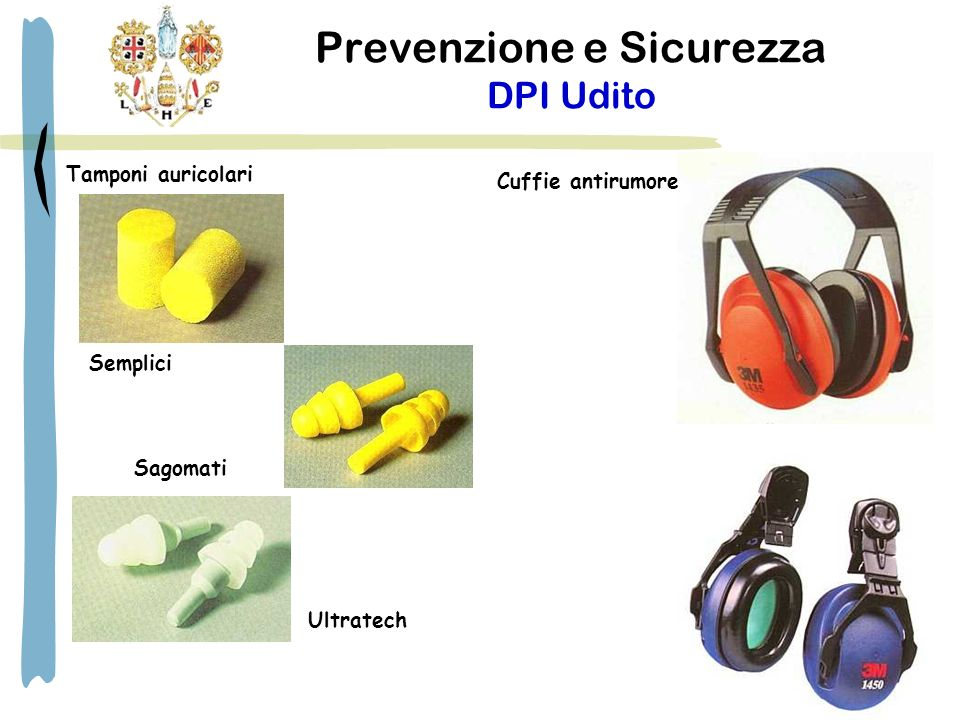 Prevenzione e Sicurezza DPI Udito