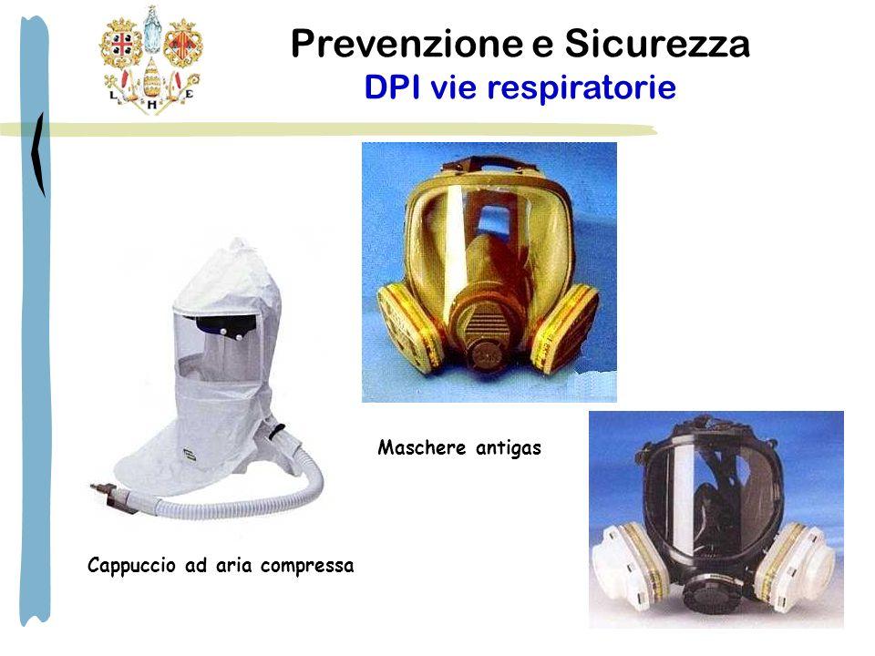 Prevenzione e Sicurezza DPI vie respiratorie