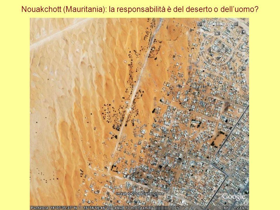 Nouakchott (Mauritania): la responsabilità è del deserto o dell'uomo