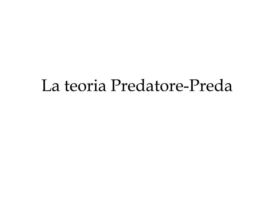 La teoria Predatore-Preda