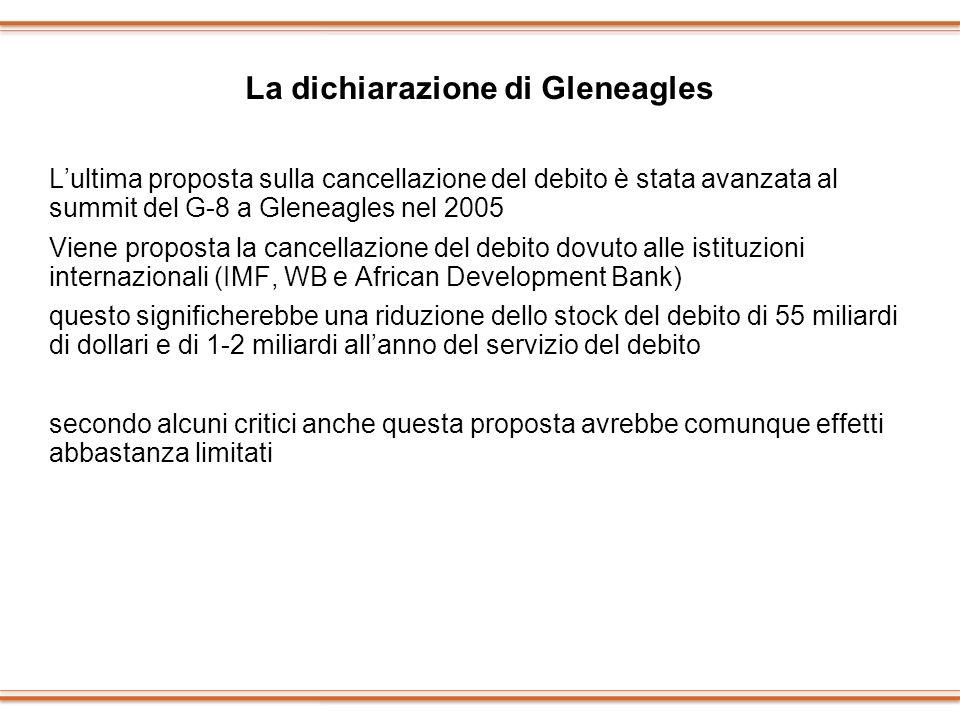 La dichiarazione di Gleneagles