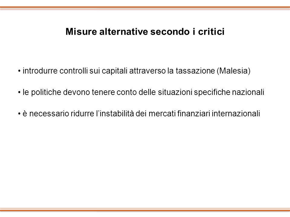 Misure alternative secondo i critici