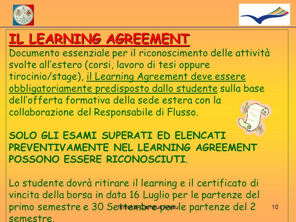 IL LEARNING AGREEMENT