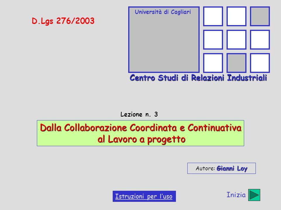 Università di Cagliari Centro Studi di Relazioni Industriali