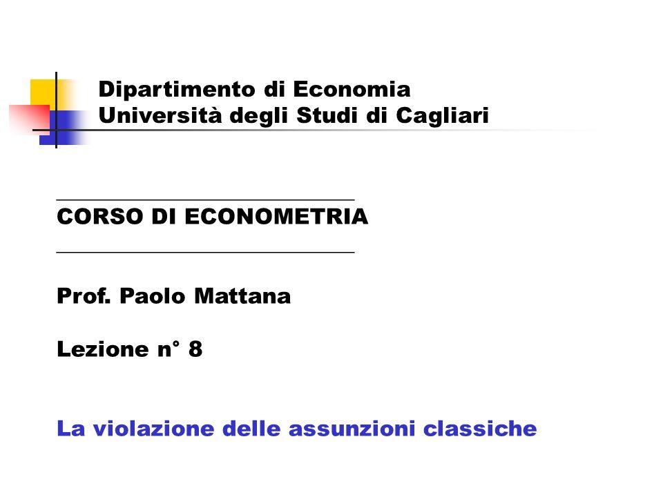 Dipartimento di Economia