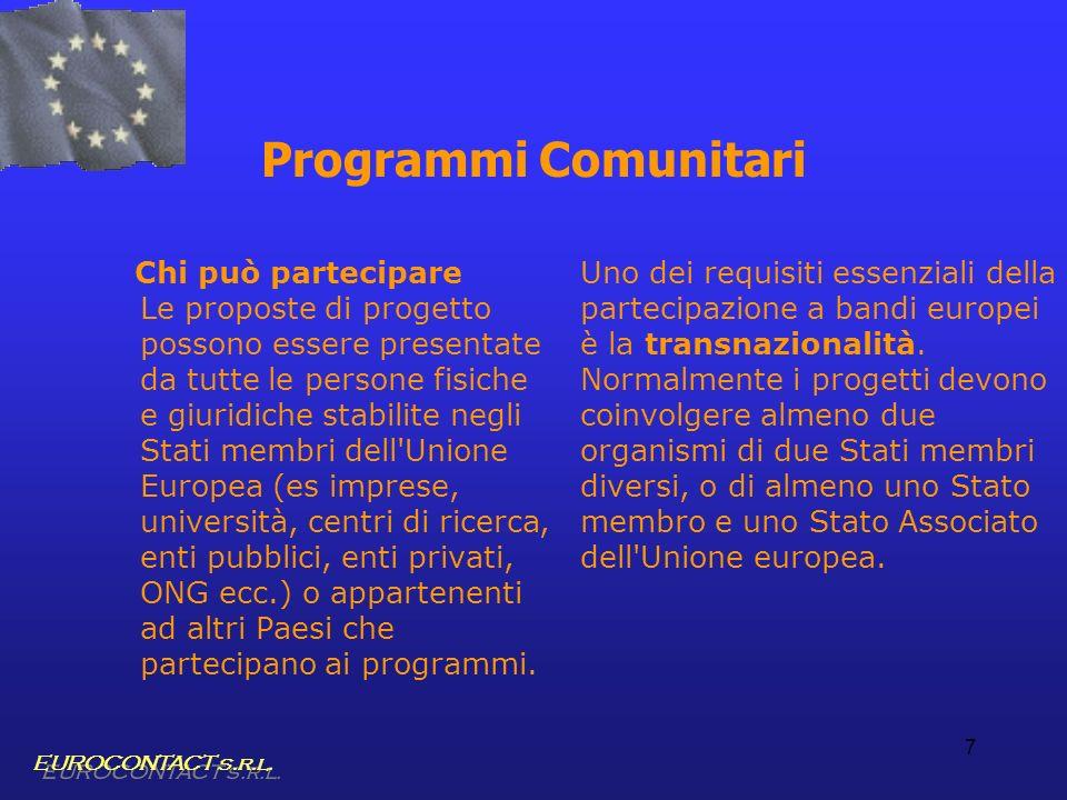 Programmi Comunitari