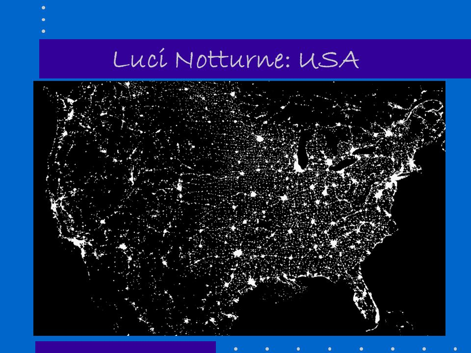 Luci Notturne: USA 14
