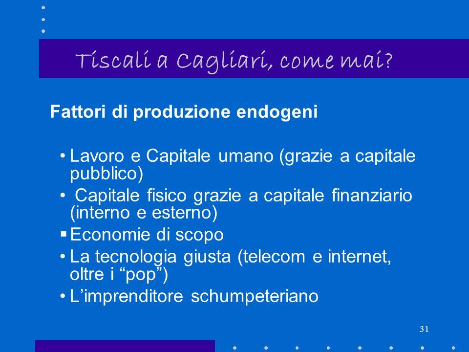 Tiscali a Cagliari, come mai