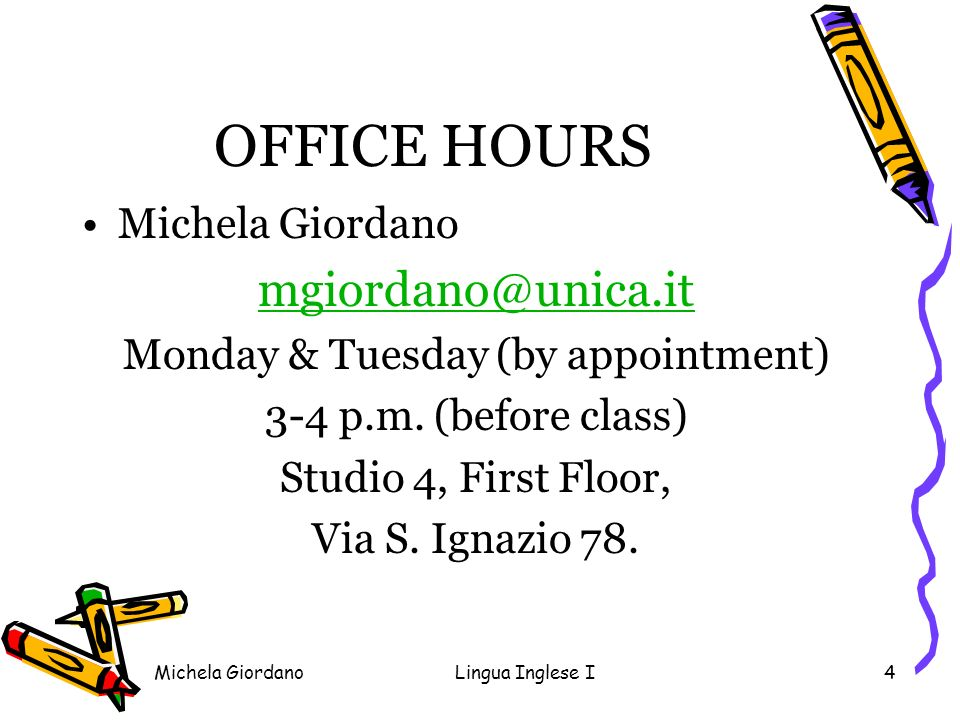 Monday & Tuesday (by appointment)