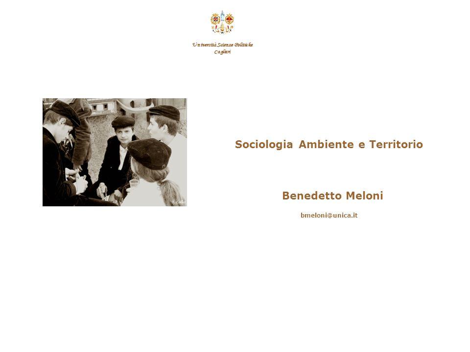 Università Scienze Politiche Sociologia Ambiente e Territorio