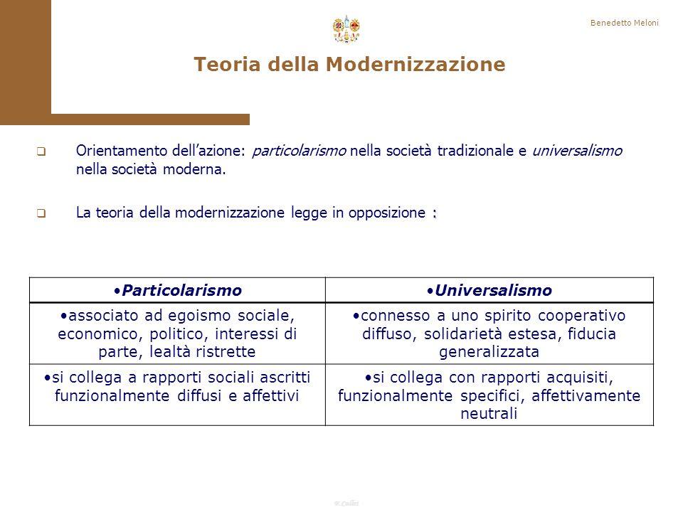 Teoria della Modernizzazione