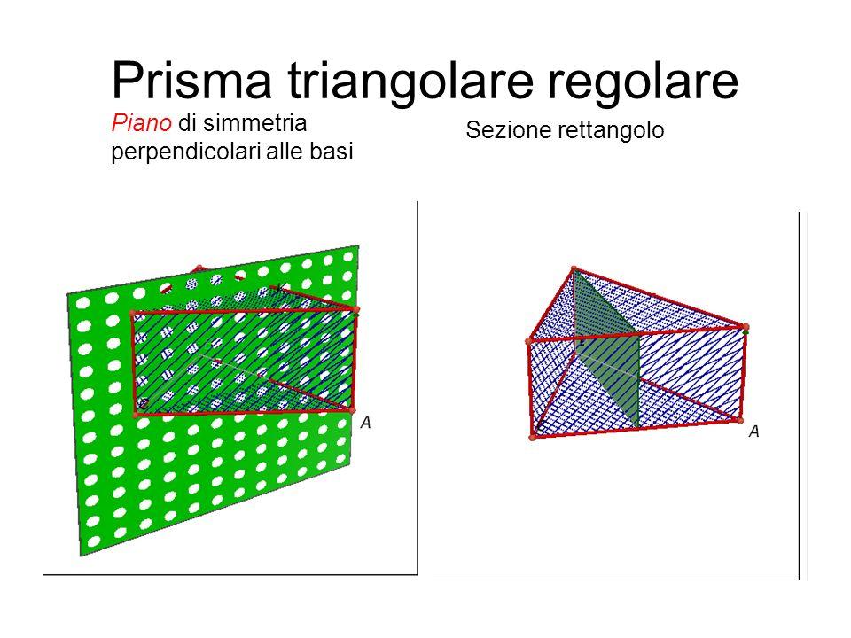 Prisma triangolare regolare