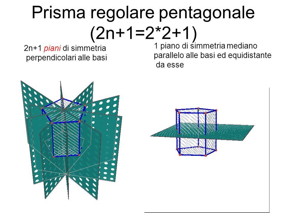 Prisma regolare pentagonale (2n+1=2*2+1)