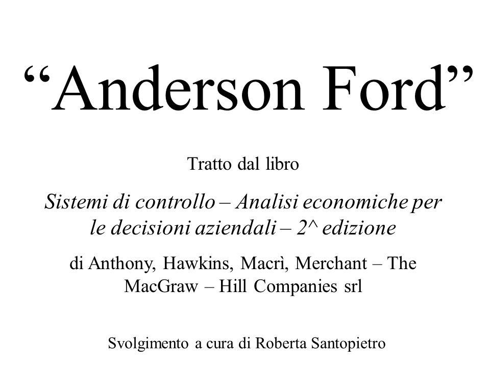 Svolgimento a cura di Roberta Santopietro