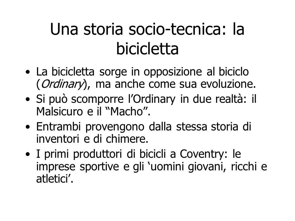 Una storia socio-tecnica: la bicicletta