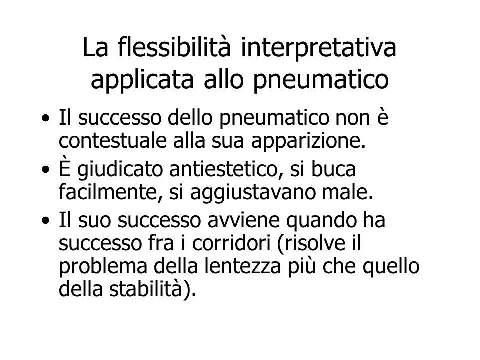 La flessibilità interpretativa applicata allo pneumatico