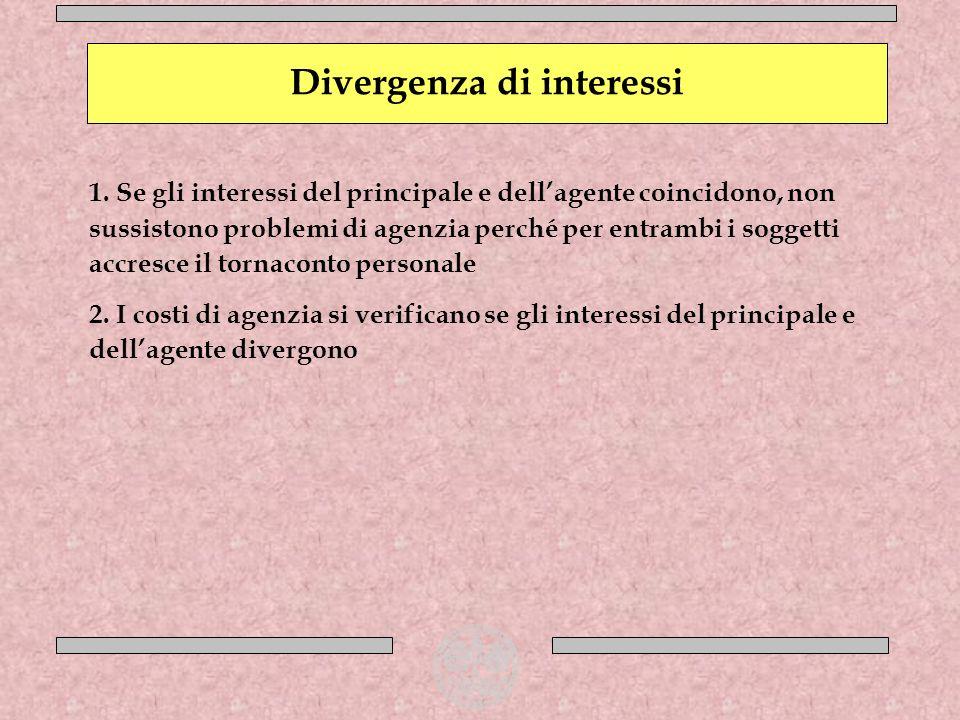 Divergenza di interessi