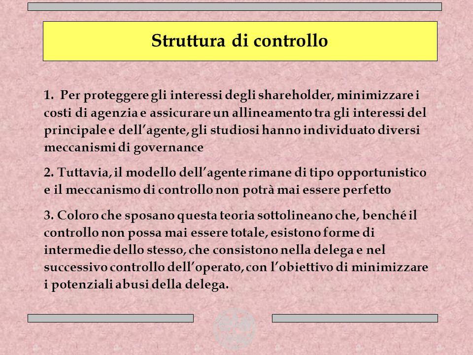 Struttura di controllo